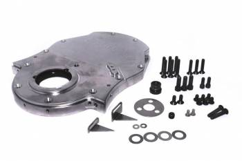 Comp Cams - Comp Cams 3 Piece Timing Cover Aluminum Natural Big Block Chevy - Each