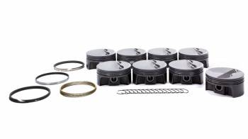 "Mahle Motorsports - Mahle Motorsports PowerPak Piston and Ring Forged 4.125"" Bore 1.0 x 1.0 x 2.0 mm Ring Groove - Minus 6.0 cc"