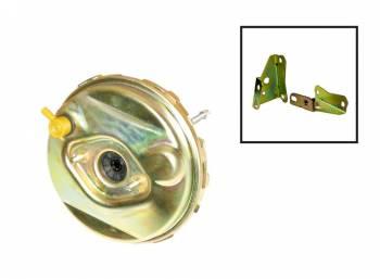 "Right Stuff Detailing - Right Stuff Detailing 9"" OD Power Brake Booster Vacuum Diaphragm Steel Zinc - Various GM Applications"