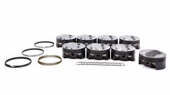 """Mahle Motorsports - Mahle Motorsports PowerPak Piston and Ring Forged 4.125"""" Bore 1.5 x 1.5 x 3.0 mm Ring Groove - Plus 11.0 cc"""