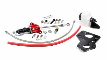 """McLeod - McLeod 1400 Series Throwout Bearing Kit Hydraulic Bolt On Braided Stainless Lines - 3/4"""" Master Cylinder"""