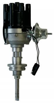 Proform Performance Parts - Proform Performance Parts Electronic Distributor Magnetic Pickup Vacuum Advance Socket Style - Black Cap