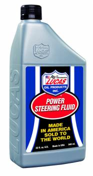 Lucas Oil Products - Lucas Oil Products 1 qt Power Steering Fluid - Set of 12