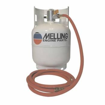 Melling Engine Parts - Melling Engine Parts Pneumatic Oil Pump Primer 4 qt Capacity Steel White - Each