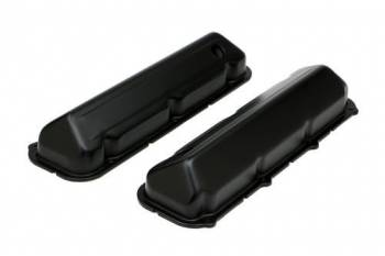 Trans-Dapt Performance - Trans-Dapt Performance Perfectmatch Valve Covers Stock Height Baffled Breather Holes