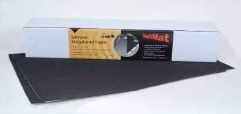 "Hushmat - Hushmat Silencer Megabond Sound Barrier 23 x 36"" Sheet 1/8"" Thick Foam - Black"