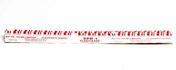 "Speed Pro - Speed Pro 0.002-0.003"" Measurement Range Plastigauge Red - Set of 12"