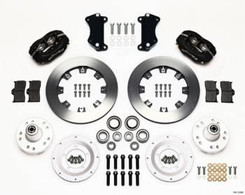"Wilwood Engineering - Wilwood Engineering Dynalite Brake System Front 4 Piston Caliper 12.19"" Solid Rotor - Offset"