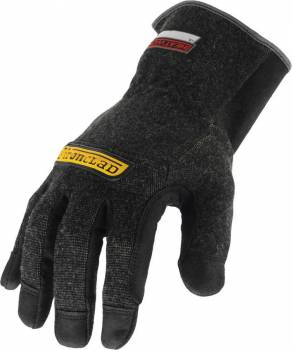 Ironclad Performance Wear - Ironclad Shop Gloves Heatworx Reinforced Reinforced Fingertips and Palm Kevlar®/Synthetic Leather - Black