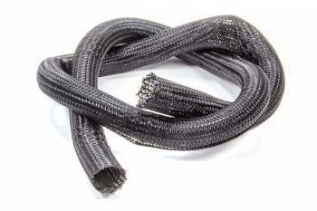 "Vibrant Performance - Vibrant Performance 1-1/2"" Diameter Hose and Wire Sleeve Split 5 ft Braided Plastic - Black"