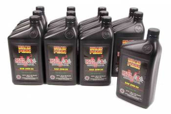Brad Penn Racing Oil - Brad Penn Racing Oil 20W50 Motor Oil Conventional 1 qt Motorcycle - Set of 12