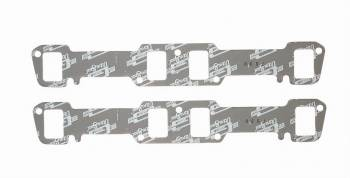 "Mr. Gasket - Mr. Gasket Ultra-Seal Exhaust Manifold/Header Gasket 1.240 x 1.860"" Rectangle Port Steel Core Laminate Big Block Buick - Pair"