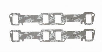 "Mr. Gasket - Mr. Gasket Ultra-Seal Exhaust Manifold/Header Gasket 1.240 x 1.860"" Rectangle Port Steel Core Laminate Big Block Buick - Pair"