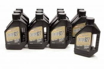 Maxima Racing Oils - Maxima Racing Oils Castor 927 2 Stroke Oil Conventional 16 oz - Set of 12