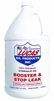 Lucas Oil Products - Lucas Oil Products Booster and Stop Leak Hydraulic Oil Additive 1 gal - Set of 4