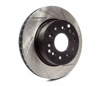 StopTech - Stoptech Power Slot Brake Rotor Front/Rear Driver Side Directional/Slotted - 1 Piece