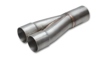 """Vibrant Performance - Vibrant Performance Slip-On Collector Merge Collector 2 into 1 2"""" Primary Tubes - 2-1/2"""" Outlet"""