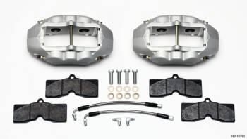 Wilwood Engineering - Wilwood Engineering D8-4 Brake System Rear 4 Piston Caliper Lines - Pads