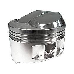 "JE Pistons - JE Pistons Small Block Dome Piston Forged 4.155"" Bore 1/16 x 1/16 x 3/16"" Ring Grooves - Plus 12.9 cc"