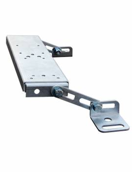 H3R Performance - H3R Performance Bolt-On Fire Extinguisher Mount Seat Mount Aluminum Brushed - H3R Fire Extinguisher Holders