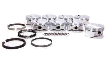 """Bullet Pistons - Bullet Pistons Forged Piston 4.030"""" Bore 1.5 x 1.5 x 3 mm Ring Grooves Minus 6.8 cc - Small Block Chevy"""