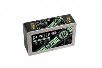 "Braille Battery - Braille Battery Super-Sixteen Battery Lithium 12 V 575 Cranking Amps - Top Post Screw"" Terminals"