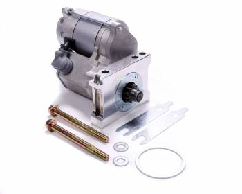 Powermaster Motorsports - Powermaster Motorsports XS Torque Starter 4.1:1 Gear Reduction Natural 153/168 Tooth Flywheel - Straight Bolt Pattern