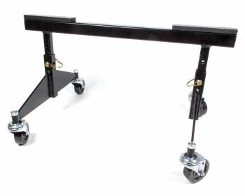 King Racing Products - King Racing Products Chassis Quick Stands Frame Stand Steel Black Powder Coat Sprint Chassis - Pair