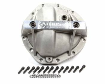 Moser Engineering - Moser Engineering Performance Differential Cover Gasket/Hardware Included Aluminum Natural - GM Truck 12 Bolt