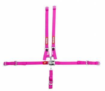 RaceQuip - RaceQuip 5 Point Harness Latch and Link SFI-16.1 Pull Up Adjust - Bolt-On/Wrap Around