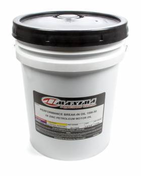 Maxima Racing Oils - Maxima Racing Oils Performance Break-In Motor Oil ZDDP 15W50 Conventional - 5 gal