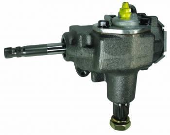 "Borgeson - Borgeson Manual Steering Box Saginaw 525 16 to 1 Ratio 3/4-36"" Spline - Iron"