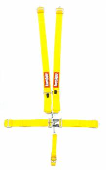 RaceQuip - RaceQuip 5 Point Harness Latch and Link SFI-16.1 Pull Down Adjust - Bolt-On/Wrap Around