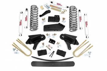 "Rough Country - Rough Country 6"" Lift Suspension Lift Kit Brackets/Bushings/Hardware/Radius Arms - Ford Fullsize Truck/SUV 1980-96"