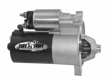 Tuff Stuff Performance - Tuff Stuff Performance Ford 2-Bolt Starter Gear Reduction Black Powder Coat Small Block Ford - Each