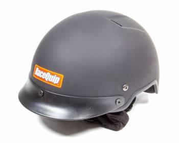 RaceQuip - RaceQuip Crew Helmet Flat Black - Large