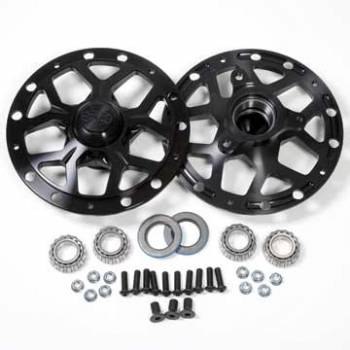 DMI - DMI Black Widow Wheel Hub Assembly Driver Front Direct Mount Hubs Bearings - Dust Caps