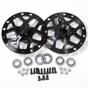 DMI - DMI Black Widow Wheel Hub Assembly Driver Front Direct Mount Hubs Bearings - Dust Caps