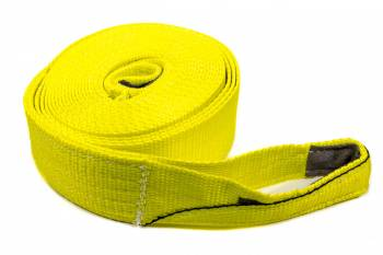 "Tuflex - Tuflex 3"" Wide Tow Strap 30 ft Long 22,500 lb Capacity Nylon - Yellow"
