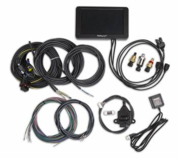 "Holley Performance Products - Holley Performance Products 7"" Touch Screen Digital Dash GPS Speedometer - Wiring Harness/Memory Stick/Oil Pressure Sensor/CTS Sensor/MAT Sensor Included"