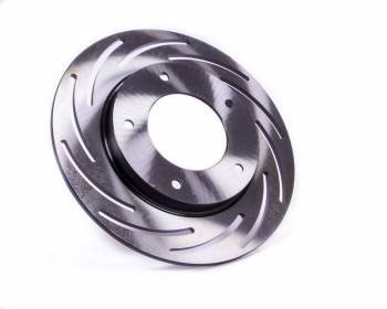 "Strange Engineering - Strange Engineering Front Brake Rotor Driver Side Directional/Slotted 10.000"" OD - 0.200"" Thick"