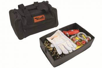 Mile Marker - Mile Marker Heavy Duty Winch Accessory Kit Bag/Chain/D-Rings/Gloves/Snatch Block/Strap