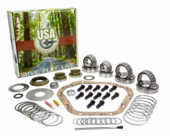Yukon Gear & Axle - Yukon Gear & Axle USA Standard Differential Rebuild Kit Bearings Seals O-Rings - Front