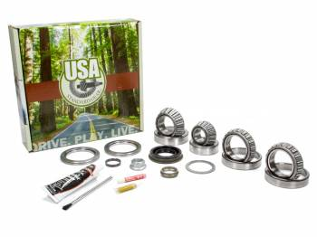 "Yukon Gear & Axle - Yukon Gear & Axle USA Standard Differential Rebuild Kit Bearings Seals O-Rings - Ford 9.75"""