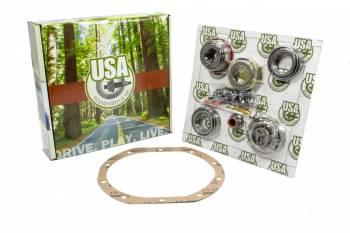 "Yukon Gear & Axle - Yukon Gear & Axle USA Standard Differential Rebuild Kit Bearings Seals O-Rings - Ford 7.5"""