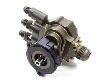 Kinsler Fuel Injection - Kinsler Fuel Injection Tough Pump 500 Hex Driven Fuel Pump Inline 12 AN Male Inlet Three 6 AN Male Outlets - Aluminum