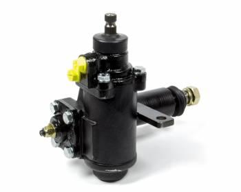 "Borgeson - Borgeson Power Steering Box Iron Black Paint 1-1/8"" Pitman Shaft - Mopar 1971-82"