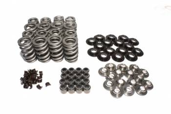 """Comp Cams - Comp Cams Beehive Spring Valve Spring Kit 372 lb/in Rate 1.100"""" Coil Bind 1.075"""" OD - Steel Retainer"""