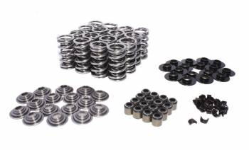"""Comp Cams - Comp Cams Dual Spring Valve Spring Kit 400 lb/in Rate 1.100"""" Coil Bind 1.320"""" OD - Steel Retainer"""
