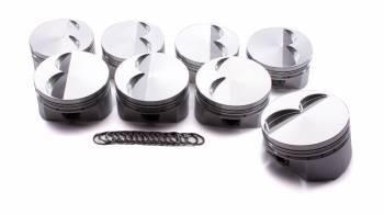 "Diamond - Diamond Street/Strip Flat Top Piston Forged 4.100"" Bore 1/16 x 1/16 x 3/16"" Ring Grooves - Minus 6.8 cc"